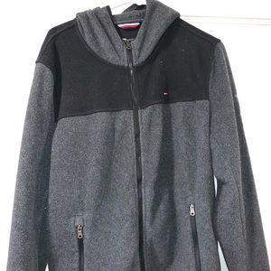 Mens Tommy Hilfiger zip up jacket.